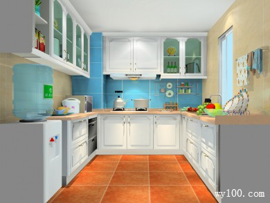 厨房装修效果图 6�O满足烹饪和储物需求 title=
