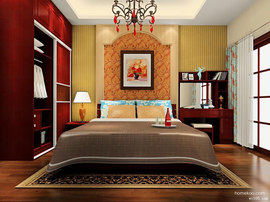波艾系列卧房A0141_维意定制家具商城