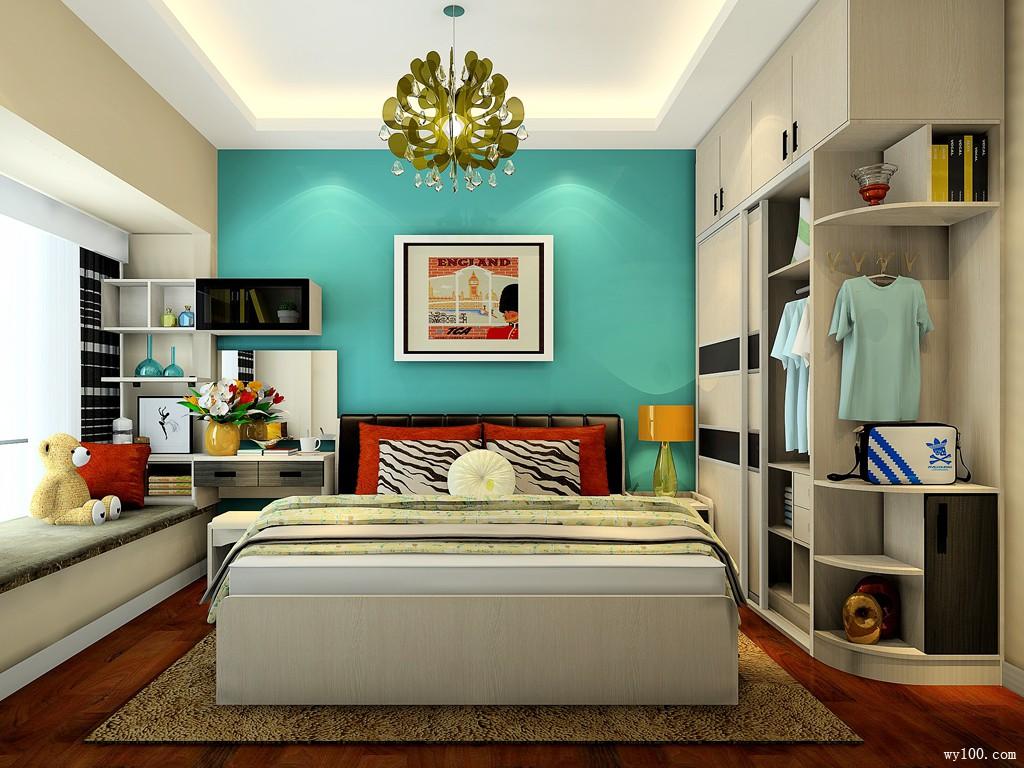 我的世界卧室布置 10�O打造休闲静谧的现代居室_维意定制家具商城