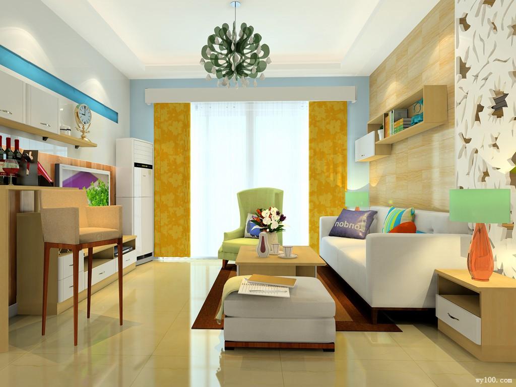 现代客厅装修效果图 33�O体现品味生活_维意定制家具商城