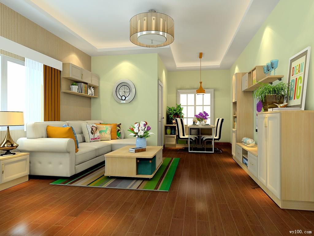 33�O素雅客餐厅 低碳环保的温馨之家_维意定制家具商城