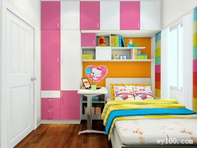 儿童房装修效果图 5�O设计出小孩学习的空间 title=