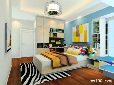 时尚型卧室效果图 施展细腻的12�O空间魔法 title=