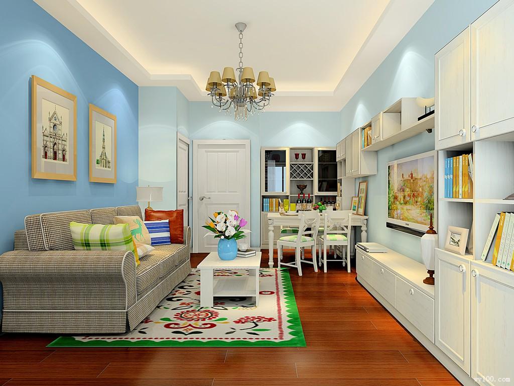 美式客餐厅效果图 55�O客餐厅空间利用合理化_维意定制家具商城
