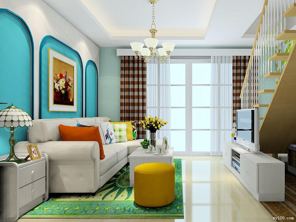 客厅装修设计效果图 31�O我的idea我做主我定制_维意定制家具商城