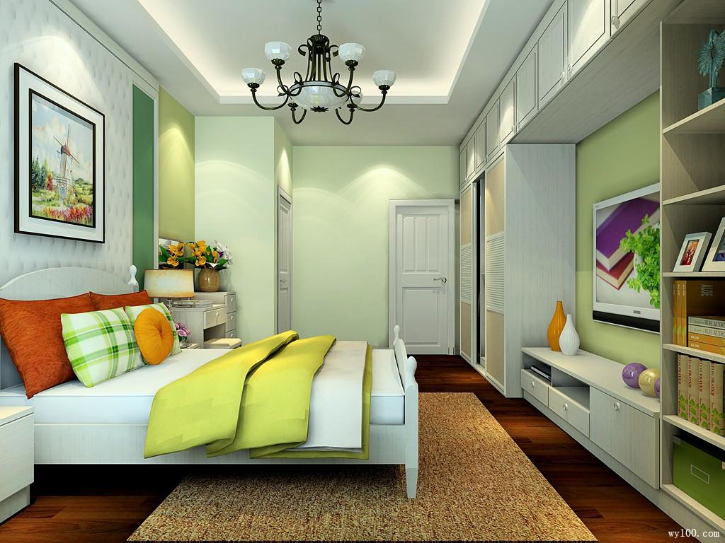衣柜组合卧室效果图 18�O1+1>2实现空间的节省_维意定制家具商城