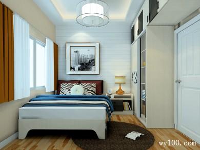大型整体衣柜卧室效果图 8�O让这个空间更添风采 title=