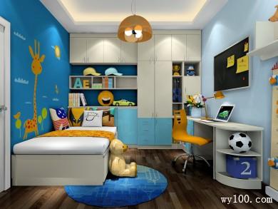 儿童房榻榻米卧室 11�O整体空间给人一种舒适感 title=