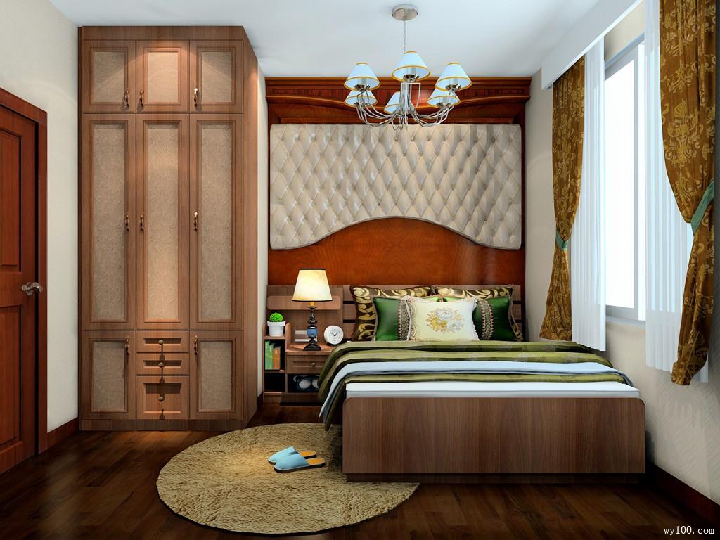 中式卧室设计 透露古典氛围_维意定制家具商城