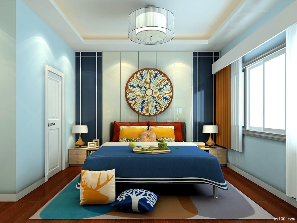 40-45�O卧室装修效果图