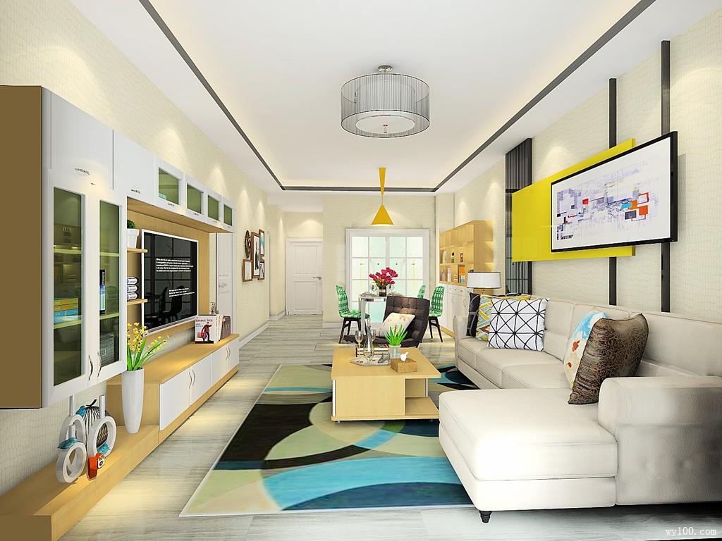 柜体组合客餐厅 超强收纳增加房屋空间_维意定制家具商城