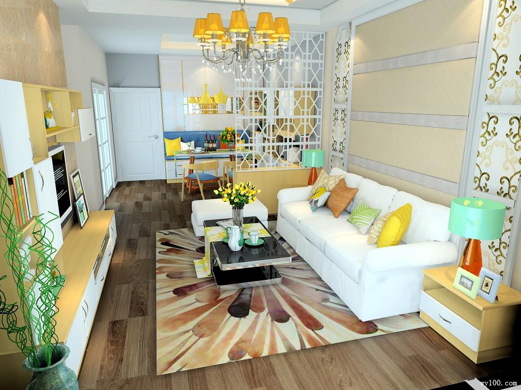 客餐厅装修效果图 25�O永恒的心灵港湾_维意定制家具商城