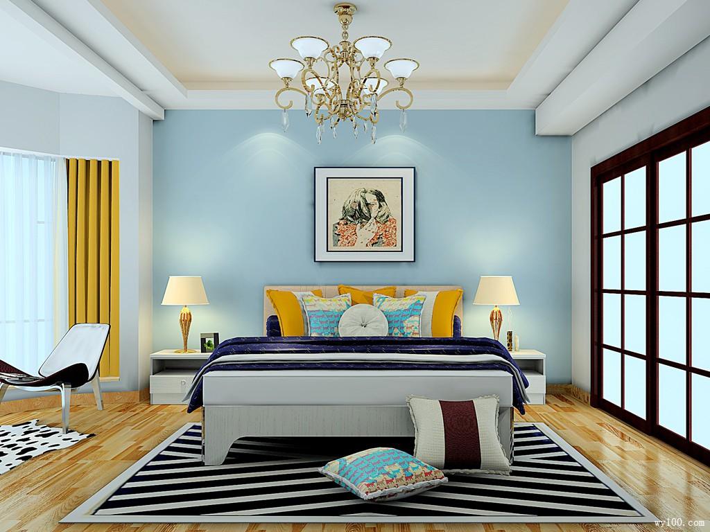 20-25�O卧室装修效果图