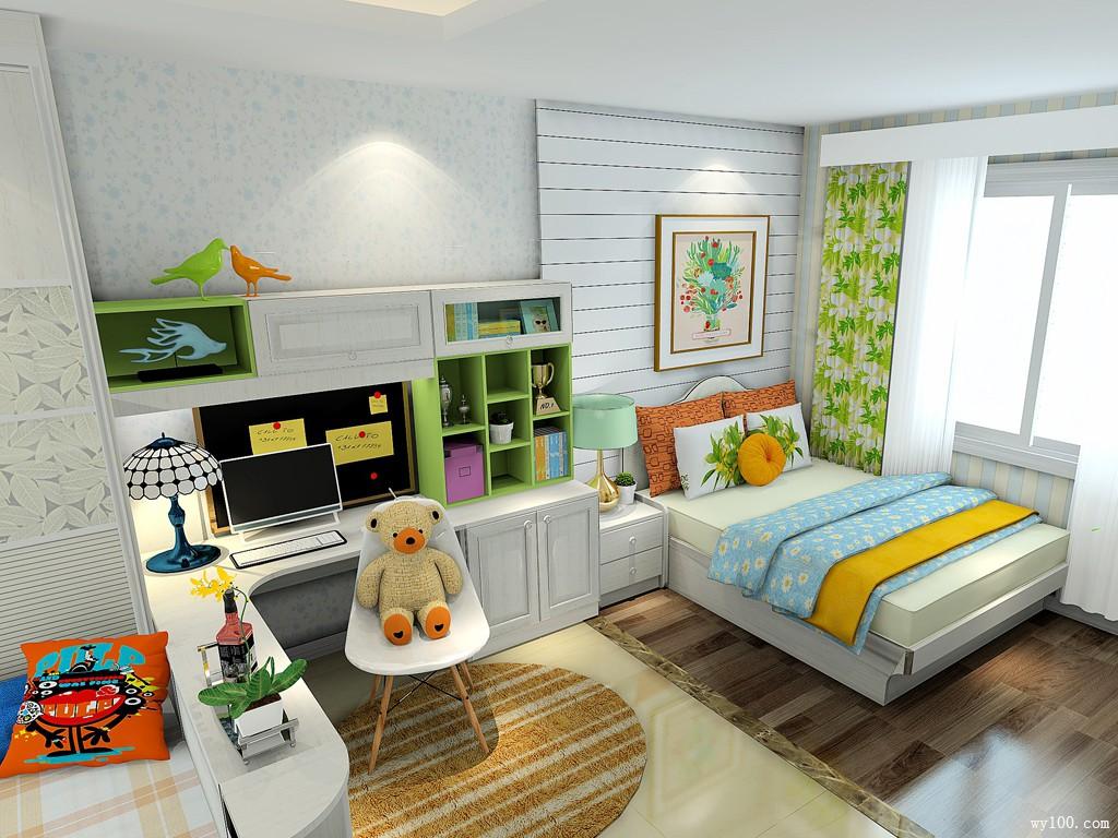 30000-40000元卧室装修效果图