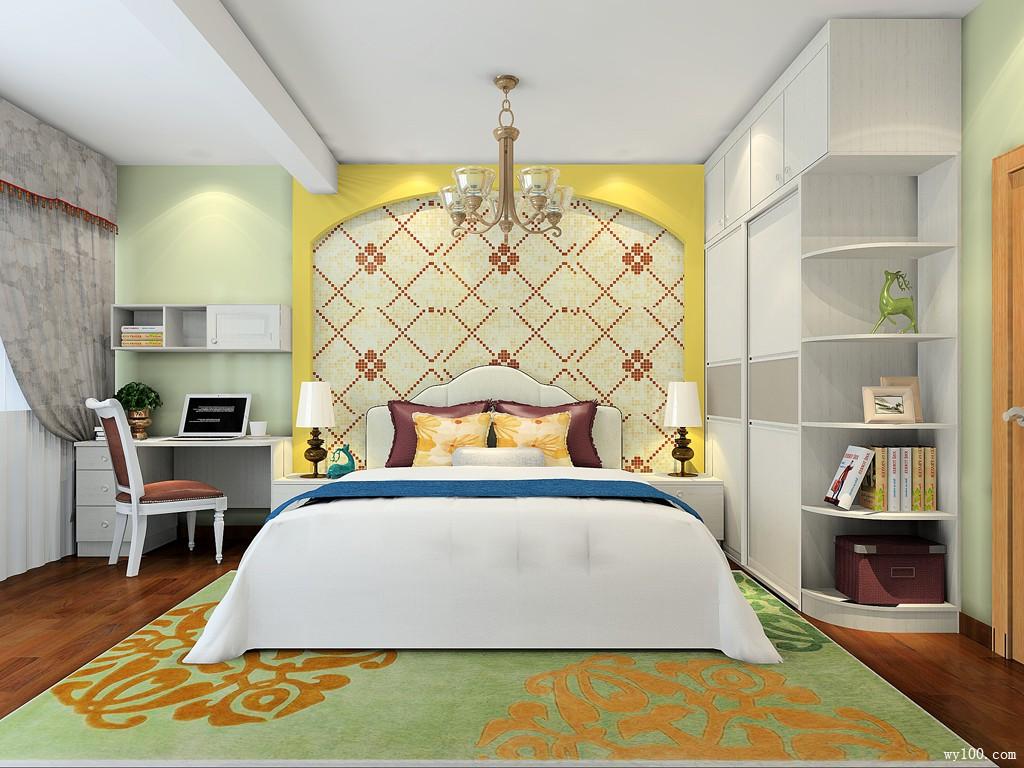 30-35�O卧室装修效果图