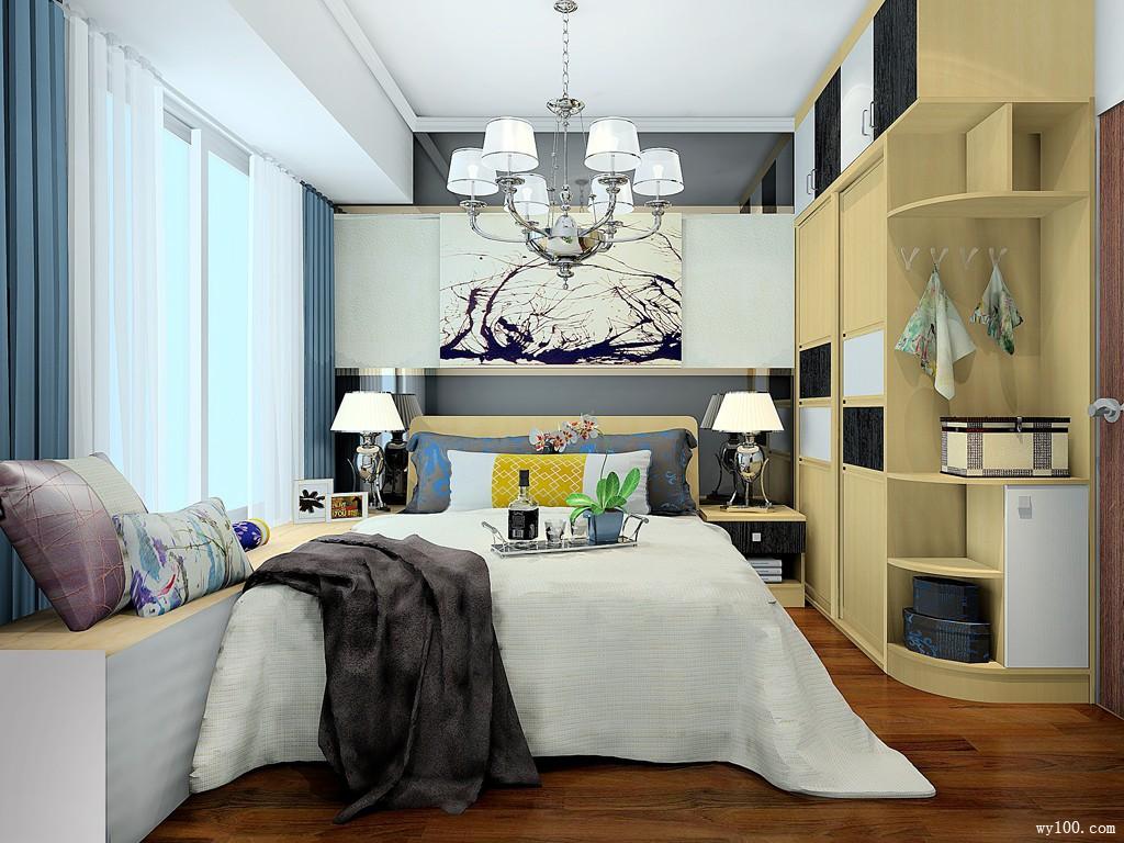 5-10�O卧室装修效果图