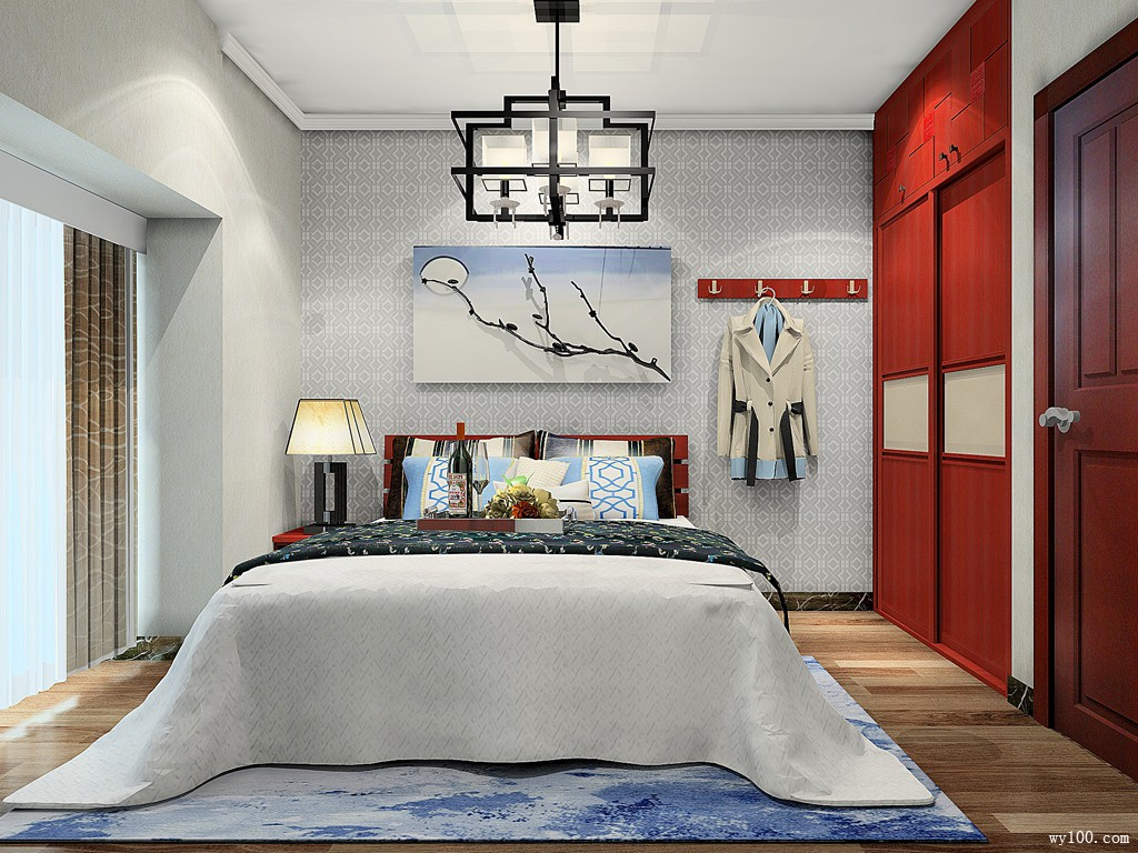 5000-10000元卧室装修效果图