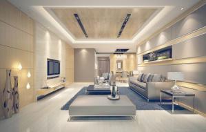 长方形客厅家具欣赏