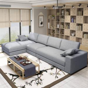 小户型现代转角沙发