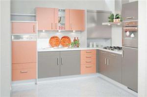 简易纯色家庭厨房橱柜