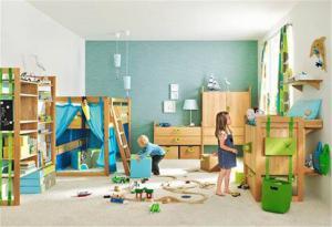 自由现代美式儿童房