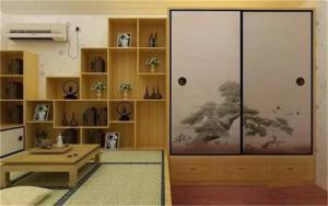 日式特色小房间榻榻米