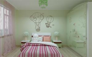 童趣硅藻泥儿童房效果图