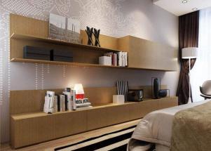 小户型客厅北欧电视柜