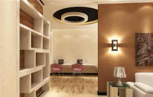 现代室内装饰柜