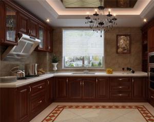 新中式厨房整体橱柜
