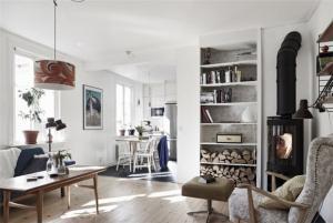 小户型客厅书柜必备品