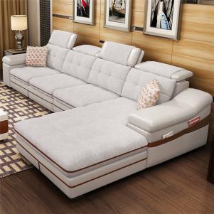 美式客厅布艺沙发