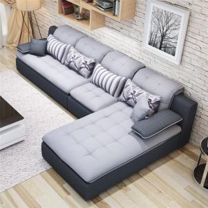 简约的小户型客厅沙发