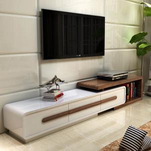 挂壁式烤漆电视柜