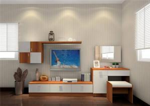 中式整体房间电视柜