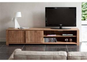 现代实木北欧电视柜