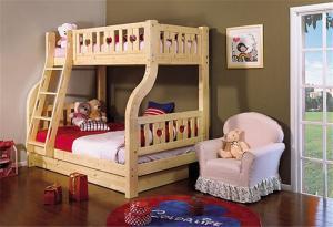 卡哇伊儿童房设计上下床