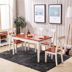 现代中式小户型客厅餐桌