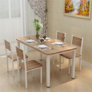 简易餐厅餐桌欣赏