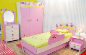 温馨儿童房颜色