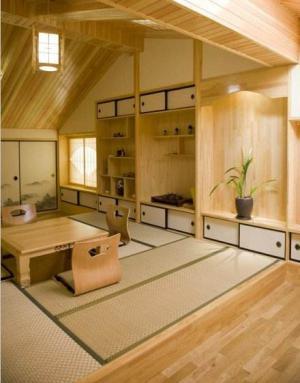 日式设计阁楼榻榻米