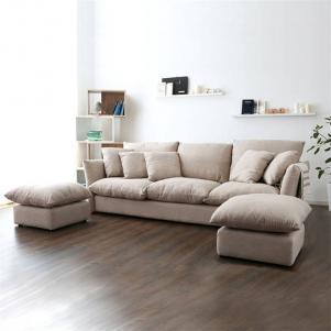 简易客厅沙发摆放效果图