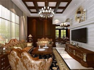 复古美式客厅家具