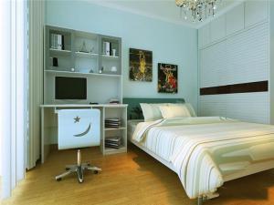 床头卧室书柜