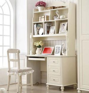 白色欧式家庭书桌