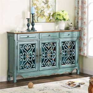 时尚古典美式餐边柜