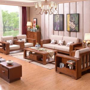 新款的时尚中式沙发
