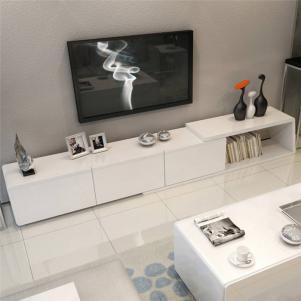 客厅白色创意电视柜