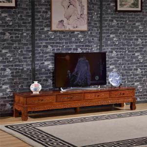 简易红木电视柜