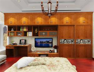 实木风格房间电视柜